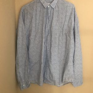 NWOT FRANK & EILEEN Men's shirt
